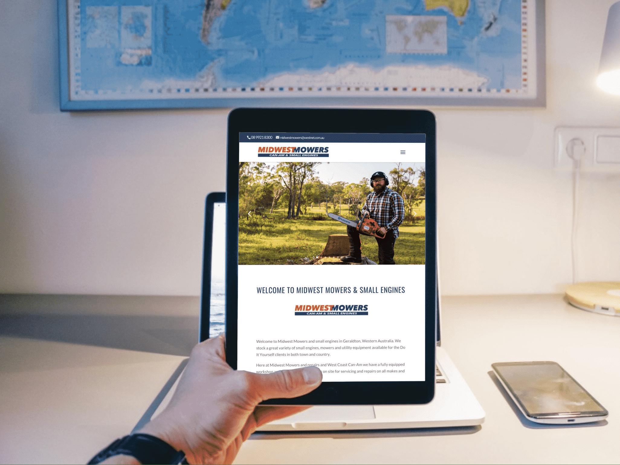 Midwest Mowers Websites